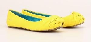 Žluté baleríny