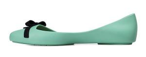 Světle zelené baleríny