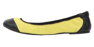Černo-žluté baleríny Cocorose London