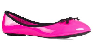 Růžové baleríny Buffalo