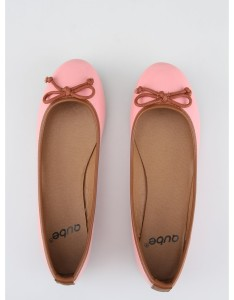 Růžové balerínky Qube Qupid