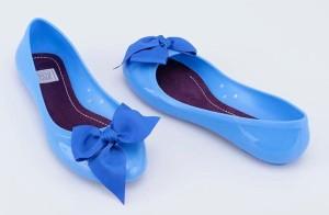 Modré baleríny Colours of California